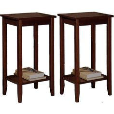 online shopping for Set 2 Rosewood Tall End Tables, Coffee Brown from top store. See new offer for Set 2 Rosewood Tall End Tables, Coffee Brown Furniture Deals, Home Decor Furniture, Living Room Furniture, Furniture Design, Tall End Tables, End Table Sets, Side Tables, Contemporary End Tables, Living Room Table Sets