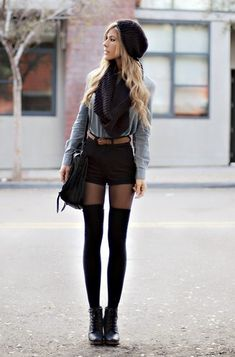 904e0e35032b9 12 Best thigh high socks outfit images in 2017 | Cute Clothes ...