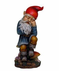 http://www.efairies.com/store/pc/Sleeping-Garden-Gnome-241p6920.htm  Price $53.95