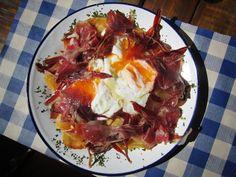 Huevos rotos con Jamón...la tradición by gastrotxusan.com