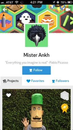 DIY iPhone user profiles screenshot