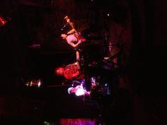 Apollo Run playing the Tijuana Gift Shop Showcase on 10/17/12 for CMJ 2012. @ApolloRun @CMJ #cmj #indie #livemusic