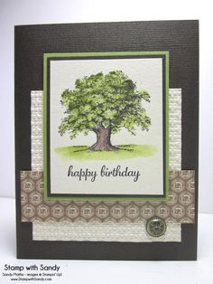 Lovely as a Tree, STB & FM150 by stampwithsandy - Cards and Paper Crafts at Splitcoaststampers