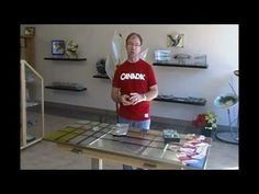 Glass foiling can be so easy if you use a table foiler! In this video, Brian demonstrates how to use a table foiler to create perfect foiled pieces every time. Using the table foiler is perfect for beginning students or people with arthritis. It also saves a lot of time!  As always, you can purchase this product in-store or online at:  http://ww...