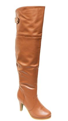 Top Moda Page-5 Women's almond toe side zipper over knee boots *** You can get more details by clicking on the image.