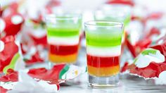 The holidays are here! Our 5 layers of holiday stress jelly shot is sure to help you get through the most hectic moments!!!