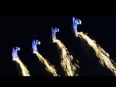 Wingsuit LED Light Show in the Sky - Gravitas: Camo & Krooked - YouTube
