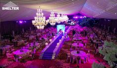 SHELTER Marquees for weddings - Wedding Hall - Party Marquee - Luxury Reception Tent - Outdoor Catering Venue -108