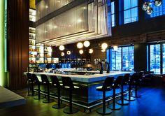The Carbon Bar by Giannone Petricone & LightBrigade & Viso, Toronto   Canada restaurant