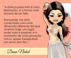 Bem vinda bailarina de Dança do Ventre Dana Nahid! #centraldancadoventre #dancadoventre #bellydance #mascote