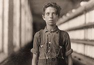 """faces of lost youth"": The History Place - Child Labor in America: Investigative Photos of Lewis Hine"