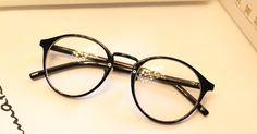Vestido U Up Lindo Estilo Vintage Gafas Mujeres Gafas Redondas Marco Enmarcan el Marco Óptico Gafas Gafas Oculos Femininos