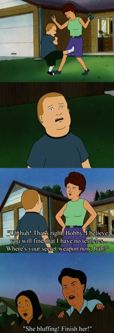 "One of my favorite King of the Hill episodes. ""That's my purse! I don't know you!"""