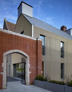 Allies and Morrison > Brighton College Education Architecture, Residential Architecture, Modern Architecture, Brighton College, Banks House, Roof Detail, Small Buildings, Commercial Design, Cladding