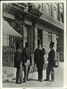 Victorian Men In The Street