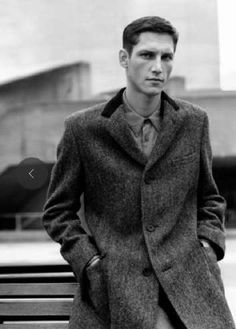 The Margaret Howell FW11 Campaign Offer Dapper Androgynous Looks #suits #mensfashion trendhunter.com