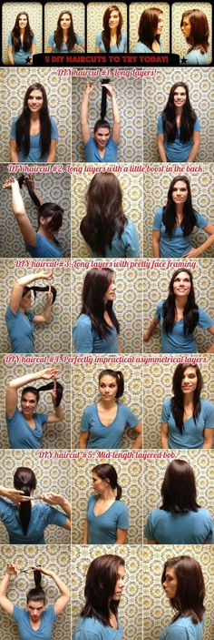 how to self cut your hair
