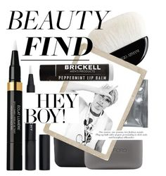 """""""Highlighter Life"""" by cultofsharon ❤ liked on Polyvore featuring beauty, Dermalogica, Giorgio Armani, Tom Ford, Givenchy, Chanel and Brickell"""
