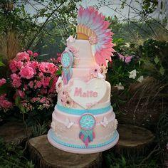 Indian Boho Cake