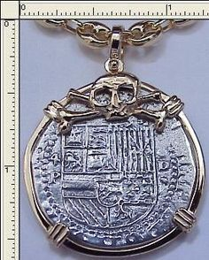 PIRATE/ATOCHA 1622 SHIPWRECK COIN JEWELRY