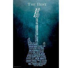 Music Poster The Best. Erhältlich bei www.closeup.de