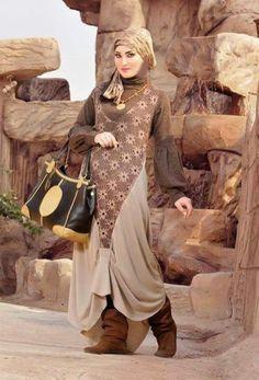 Hijab casual wear by Miy Fashion   Just Trendy Girls