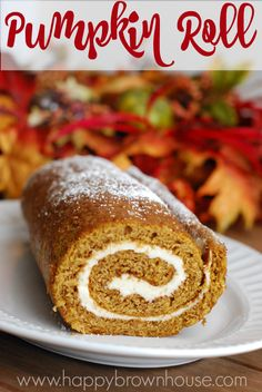 This pumpkin roll recipe and video tutorial is perfect for fall or Thanksgiving dessert. The perfectly spiraled pumpkin cake with cream cheese filling looks delicious. The video tutorial is super helpful in explaining how to make a pumpkin roll. I think I'll give it a try this year!