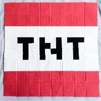 Soq minecraft quilt quilts for someday pinterest for Minecraft tnt block template