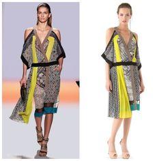 NEW BCBG MAX AZRIA RUNWAY MAGDA DRESS IQI6S061 BLACK-TALC COMB sz S  #BCBGMAXAZRIARUNWAY #SummerBeach