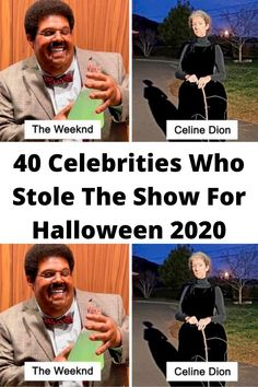 40 #Celebrities Who Stole The #Show For #Halloween 2020
