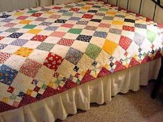 Diamond Patch Quilt Pattern Comes in 3 Sizes - Quilting Digest