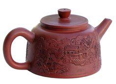Yixing Teapot Hidden Paridise 12oz