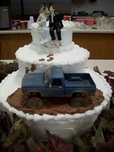 lol cool looking wedding cake :D