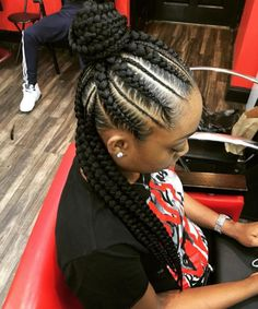 Notice how there is not one  single  strand  out  of  PLACE . | 17 Photos That Prove Cornrows Are For Black Girls