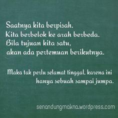Sampai Jumpa #quotes #puisi #Indonesia