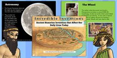 Ancient Sumerian Inventions Informative PowerPoint