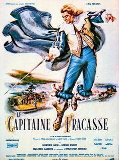 CARTELES DE CINE: EL CAPITÁN FRACASSA (LOS INTRÉPIDOS) - Le Capitaine Fracasse - 1961 - Pierre Gaspard-Huit