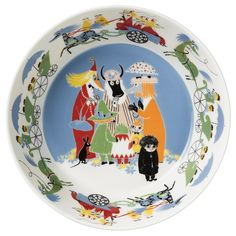 Moomin Friendship serving bowl 23 cm by Arabia - The Official Moomin Shop  - 2