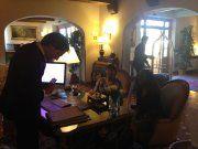 Alessandro, receptionist  Villa Olmi Resort