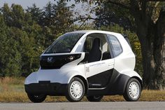 Honda introduces the MC-beta, a micro-sized electric car that's smaller than most
