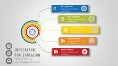 infographic network diagram powerpoint for teaching free infographic network diagram for powerpoint colorful design with