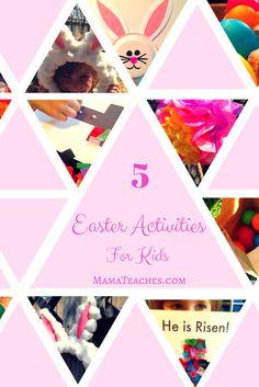 5 Easter Activities for Kids #allthingseaster