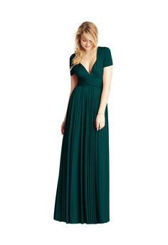 Emerald Classic Ballgown Cap Sleeve - TwoBird Bridesmaid | Wedding Inspiration | Bridesmaid Dress | Wedding Ideas | Wedding Fashion | Wedding Style | http://www.rockmywedding.co.uk/brand-new-shades-from-twobirds-bridesmaid/