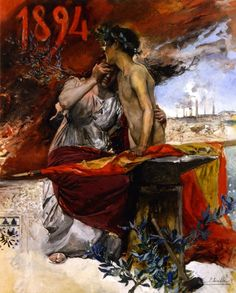 Joaquín Sorolla y Bastida - Poster for the agro-industrial exposition of 1894 in 1894. Spanish, 1863-1923