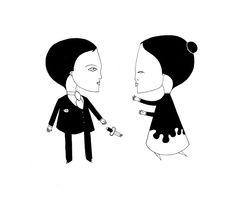 Un couple brisé