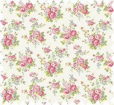 Cath Kidston - Spray Flowers Haberdashery Cotton so pretty!