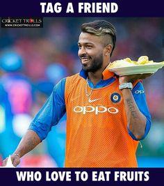 I love him more than fruits😍 India Cricket Team, Cricket Sport, Mumbai Indians Ipl, Brain Illustration, Heat Fan, Cricket Crafts, Ab De Villiers, Blue Army, Latest Cricket News
