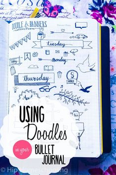 Doodles for your bujo Smash Book, Bullet Journal Décoration, Scrapbook, Banner Doodle, Organization Bullet Journal, Bullet Journal Inspiration, Journal Ideas, Doodles, Writing
