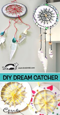 krokotak | DIY dream catcher