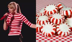 T-Swift looking like a Peppermint!